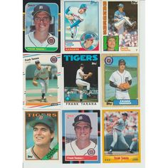 Huge lot of 35 + FRANK TANANA cards lot 1984 - 1993 Rangers Tigers Listing in the 1980-1989,Lots,MLB,Baseball,Sports Cards,Sport Memorabilia & Cards Category on eBid United States | 147953947