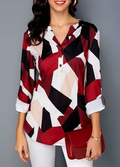 Sexy Shirts Blouses from 37 of the Trendy Shirts Blouses collection is the most trending fashion outfit this winter. This Shirts Blouses look related to blouse, Women's Summer Fashion, Modest Fashion, Skirt Fashion, Fashion Outfits, Fashion Tips, Womens Fashion, Fashion Shirts, Feminine Fashion, Ladies Fashion