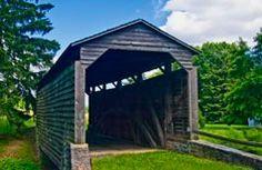 Buck Hill Farm Covered Bridge, Pa.