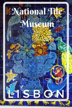 Guide and tips to visiting the National Tile Museum in Lisbon, Portugal with kids. The Museu Nacional do Azulejo is its only kind in the world and well worth a visit.