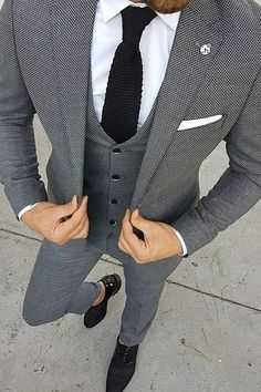 Formal Men Outfit, Casual Work Outfits, 50s Outfits, Mens Fashion Suits, Mens Suits, Fashion Fashion, Marriage Suits, Corporate Attire Women, Blazer Outfits Men