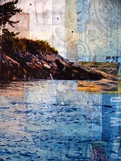 to go into the world : the artwork of mae chevrette: sunset over newport harbor