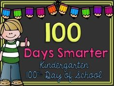-Includes grades k-5th -Male & Female versions  Print, place in a frame, and snap your picture!  Happy 100th Day of School!   **Feedback is GREATLY appreciated! =)