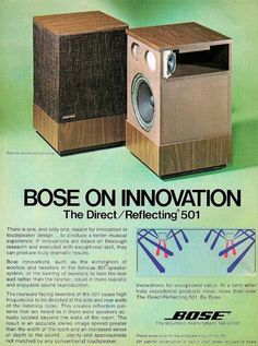 Ruthless High End Audio Speakers Tower Speakers, Diy Speakers, Built In Speakers, Stereo Speakers, Bluetooth Speakers, Bookshelf Speakers, Audio Vintage, Vintage Ads, Radios