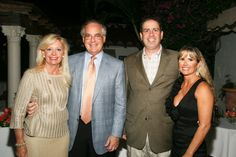 Janet and Mark Levy with Tom and Robin Leonard