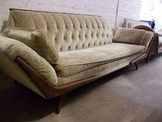 adrian pearsall mcm gondola sofa