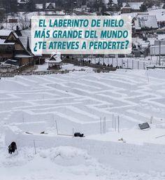 El laberinto de hielo más grande del mundo esta en Zakopane, Polonia