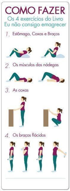 Quer emagrecer bem mais rápido? Faça os exercícios Dukan!: #ciatico