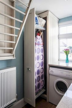 """Outstanding """"laundry room storage diy small"""" detail is offered on our web pages. Read more and you wont be sorry you did. Small Bathroom Storage, Laundry Room Organization, Laundry Room Design, Storage Organization, Laundry Rooms, Diy Storage Shelves, Closet Storage, Storage Ideas, Small Shelves"""
