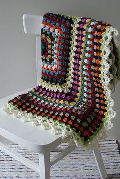 baby deken by wood & wool stool, via Flickr