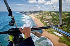Get a bird's eye view of the South African coast on a Microlight flight!