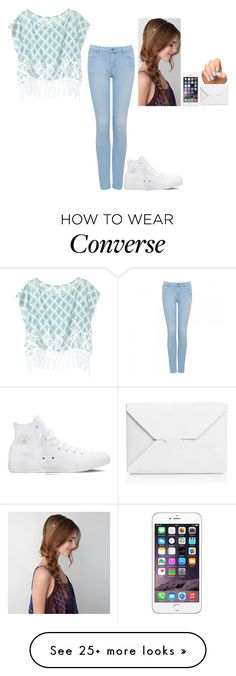 """""""Untitled #435"""" by hannahmcpherson12 on Polyvore featuring J.W. Anderson, American Eagle Outfitters, Forever New, Converse and Victoria's Secret"""