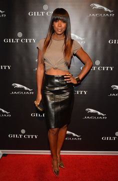 Kelly Rowland Pencil Skirt