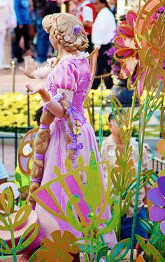 Rapunzel Face Character