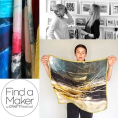 Really excited to join Sarah James from the capital of craft @craftfestival for a natter today at 11am, live on instagram. Grab a coffee and join us to mull over all things arts and scarves, inspirations and other life stuff! Hope to see you there. #meetthemaker#findamaker#famfamily#findamakermember#newmakers#CCdirectory#consciousfashion#wearableart#artscarves#inspiration#limitededitionscarves#designer#textiles Scarves Uk, Silk Scarves, Sarah James, Designer Scarves, Abstract Lines, Color Stories, Cashmere Scarf, Textile Design, Contemporary Art