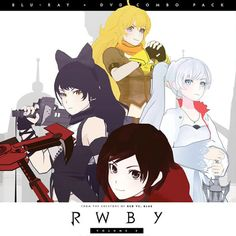 RWBY Volume 2 Blu-Ray / DVD combo pack