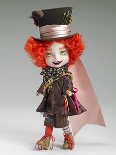 "On Sale Now $50.00  8"" Tarrant – The Mad Hatter 