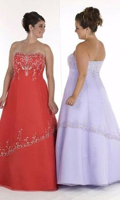 Plus Size Gowns, this would be pretty for the ball if it came in a different color