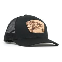 a148b8e4534 The Billy - Leather Trout. Jeff McCathern · hats