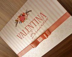 Coleção Royal - 15 anos Sweet 16 Invitations, Wedding Invitations, Invites, Ideas Para Fiestas, Birthday Party Decorations, Save The Date, Pink And Gold, Bridal Shower, Birthdays