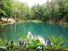 Colorful Lakes, Rudawy Janowickie, Green Lake, Poland