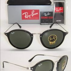 Ray Ban RB2447 Black Plastic Phantos 49mm unisex Ray-Ban Men's RB2447 Black Plastic Phantos Sunglasses   Product Description: Ray-Ban Men's RB2447 Black Plastic Phantos Sunglasses are much more than a fashionable pair of shades, they're iconic.  Shape: Round Age: Adult Type: Full-Frame Gender: Men Material: Plastic Style: Fashion Lens Color: Green Exact Color: Black Color: Black Ray-Ban Accessories Glasses