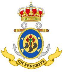 Anexo:Escudos y emblemas de las Fuerzas Armadas de España - Wikipedia, la enciclopedia libre Tenerife, Coat Of Arms, Spanish, Navy, Coats, Logo, Flowers, Hale Navy, Wraps