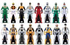 power rangers legendary battle | Legendary Ranger Keys