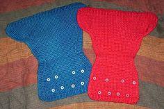 crochet wool diaper cover pattern w/snaps