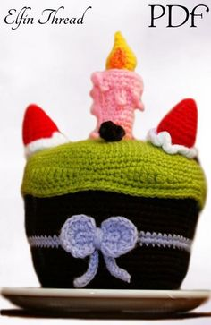 Looking for your next project? You're going to love Birthday Cake Amigurumi Pattern by designer Lorena da Silva.