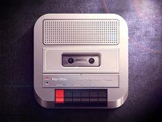 @ioscandy : #TapeDeck #classic #90sKids #retro #iOS #ProductDesign #icon #appIcon #mobile #ui #ux #design #appDesign http://t.co/bJC0GFavn0