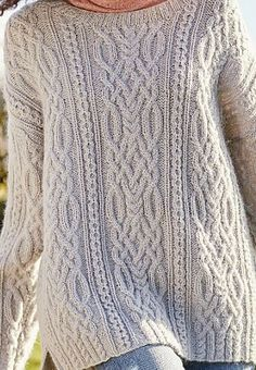 Ravelry: Sykes pattern by Martin Storey Free Knitting Patterns For Women, Cable Knitting Patterns, Crochet Patterns Amigurumi, Knitting Designs, Knit Patterns, Knit Crochet, Vogue Knitting, Knitting Yarn, Hand Knitting