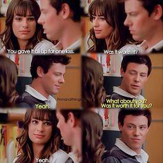 Glee Rachel Berry and Finn Hudson