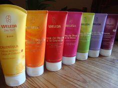 Crèmes de douche Weleda http://www.ayanature.com/fr/15-gels-douche-et-savons-bio/fabricant-weleda/type_de_produit-gel_douche/