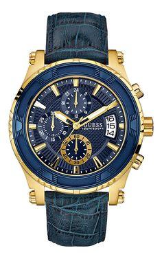 Guess Watches apresenta coleção Blue & Gold | ShoppingSpirit