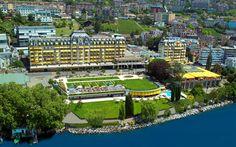 Fairmont Le Montreux Palace #Montreux #Suiza #Luxury #Travel #Hotels #FairmontLeMontreuxPalace