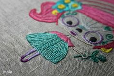 current project - little DotD Girl by pooka loves tomatoes, via Flickr