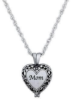 f42ba810b Memorial Urn Locket Necklace with Vial for Ashes on 23