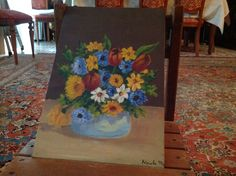 Vaso di fiori dipinto da me Rugs, Painting, Home Decor, Art, Homemade Home Decor, Types Of Rugs, Painting Art, Paintings, Kunst