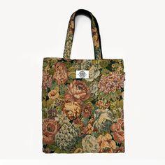 Greedy Rose Tote Bag #themidnightfactory #handmade #totebag