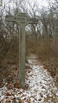 Abandoned park area - North Bend Ohio - January 2015