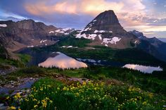 Hidden Lake  Glacier National Park  Montana  US