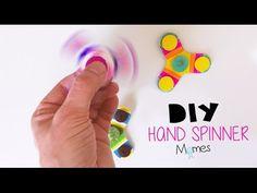 Fabriquer un hand spinner en carton - Momes.net