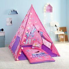Trolls Girls Teepee Tent Set Includes Trolls Lights