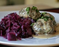 Finnish Meatballs, three tricks to produce tender, flavorful meatballs, then cloak them a creamy sauce for a traditional Finnish Christmas meal, especially at Christmas. Easily made ahead of time, perfect for entertaining. #LowCarb