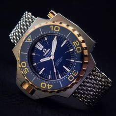 Overshadowed by the barrage of new Speedies, the new Omega Ploprof with Co-Axial Master Chronometer and the new METAS certification is an absolute stunner and brings class to the Ploprof range. Cased in lightweight titanium with touches of Sedna gold, this was one of my favourite watches from BASELWORLD 2015.