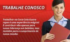 Cadastrar Curriculum na Coca Cola