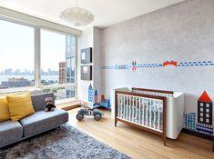 dcoration chambre bb motifs et jouets de style vintage - Chambre Orange Et Blanche