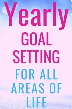 Yearly goal setting covering 8 key areas of life using SMART goals. Learn this simple and effective goal setting technique for success in all areas of life. Making Goals, Writing Goals, Good Time Management, How To Improve Relationship, Specific Goals, Areas Of Life, Personal Goals, Business Goals, Yearly