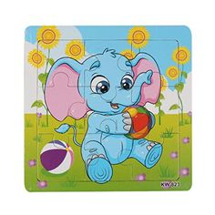 OUBAO Wooden Elephant Jigsaw Toys For Kid